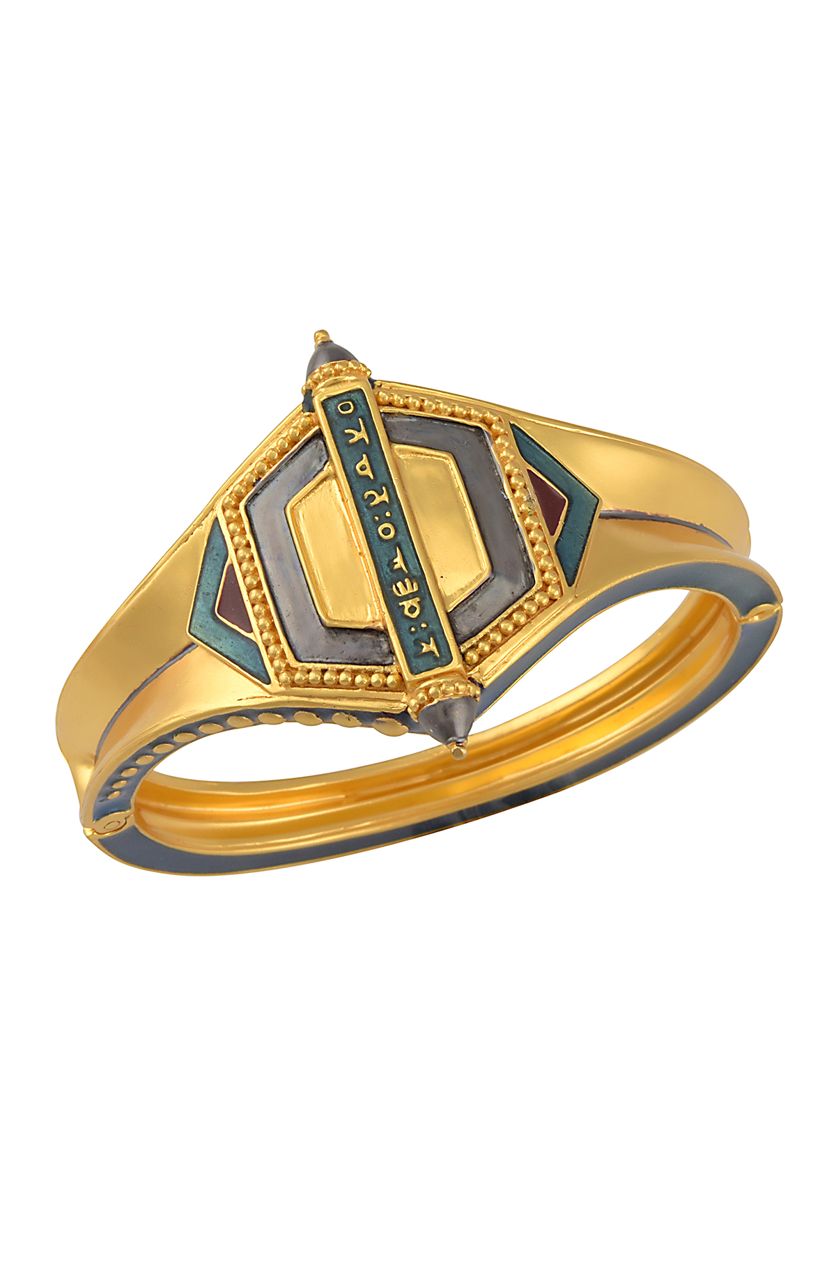 Mantra Rawa Enamelled Bangle