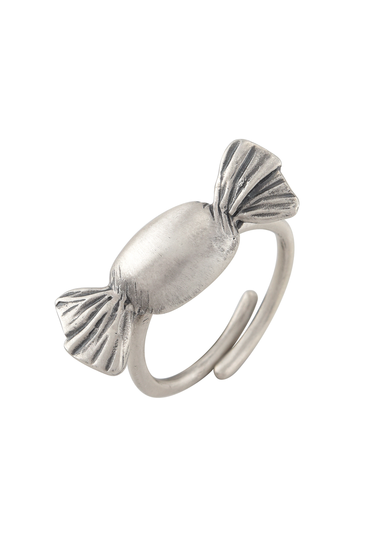 Toffee Silver Plated Ring