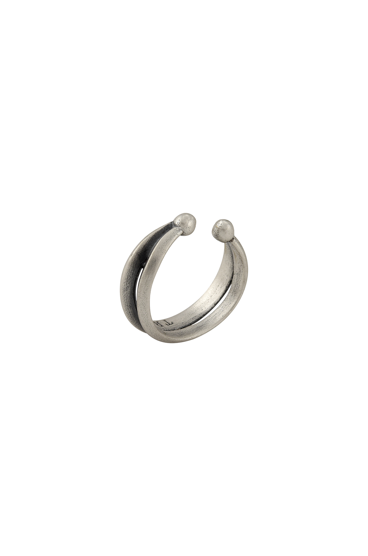 Silver Plated Round Septum Ring