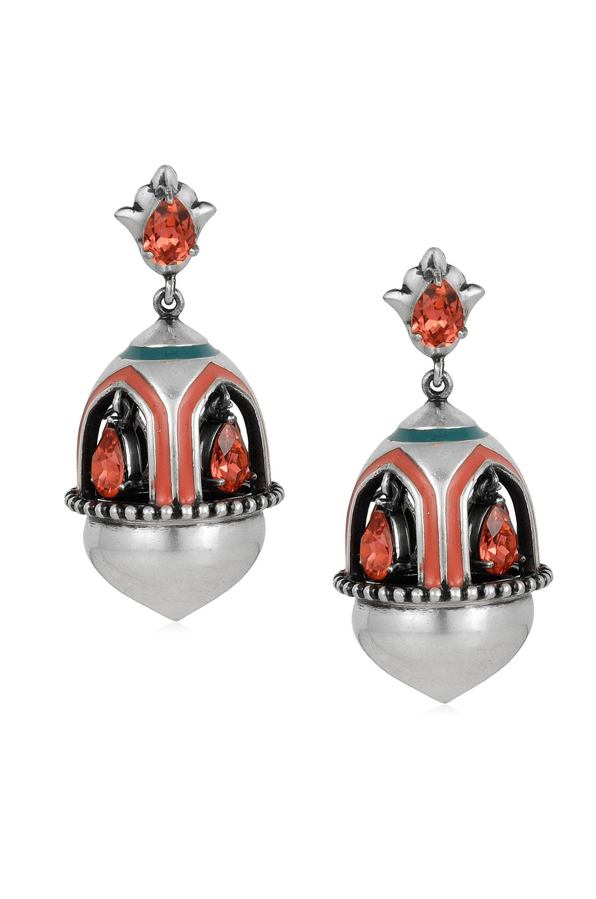 Mughal Garden Window Earrings