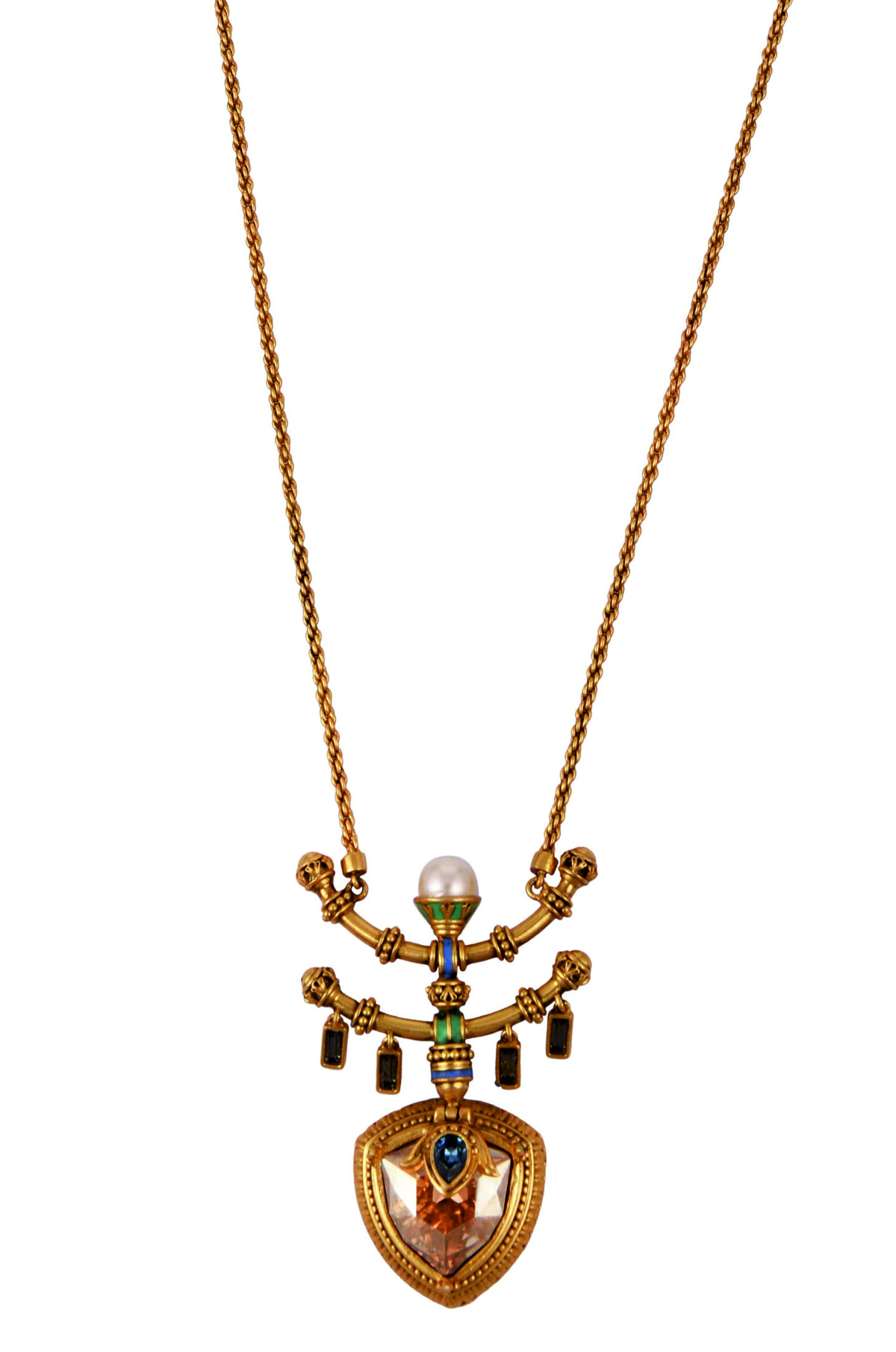 Baroque Layered Necklace