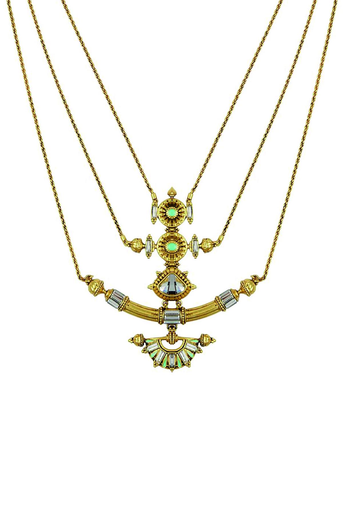 Baroque Trident Necklace