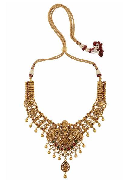 Gold Plated Silver Kimaya Necklace