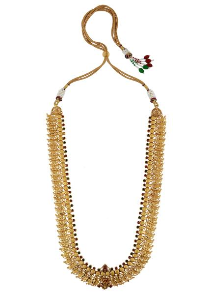 Silver Gold Plated Kimaya Mango Necklace