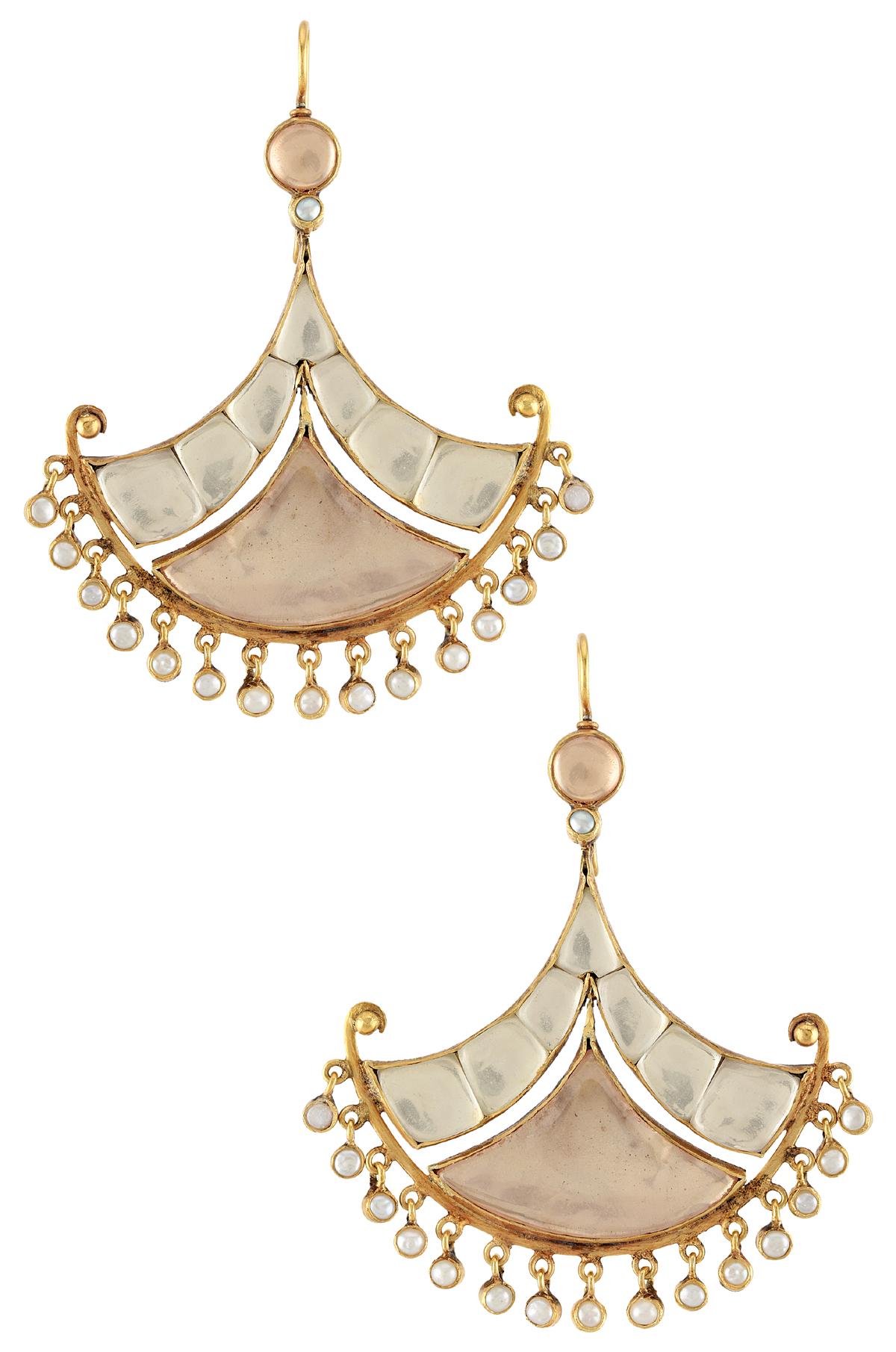 Silver Alizeh Earrings