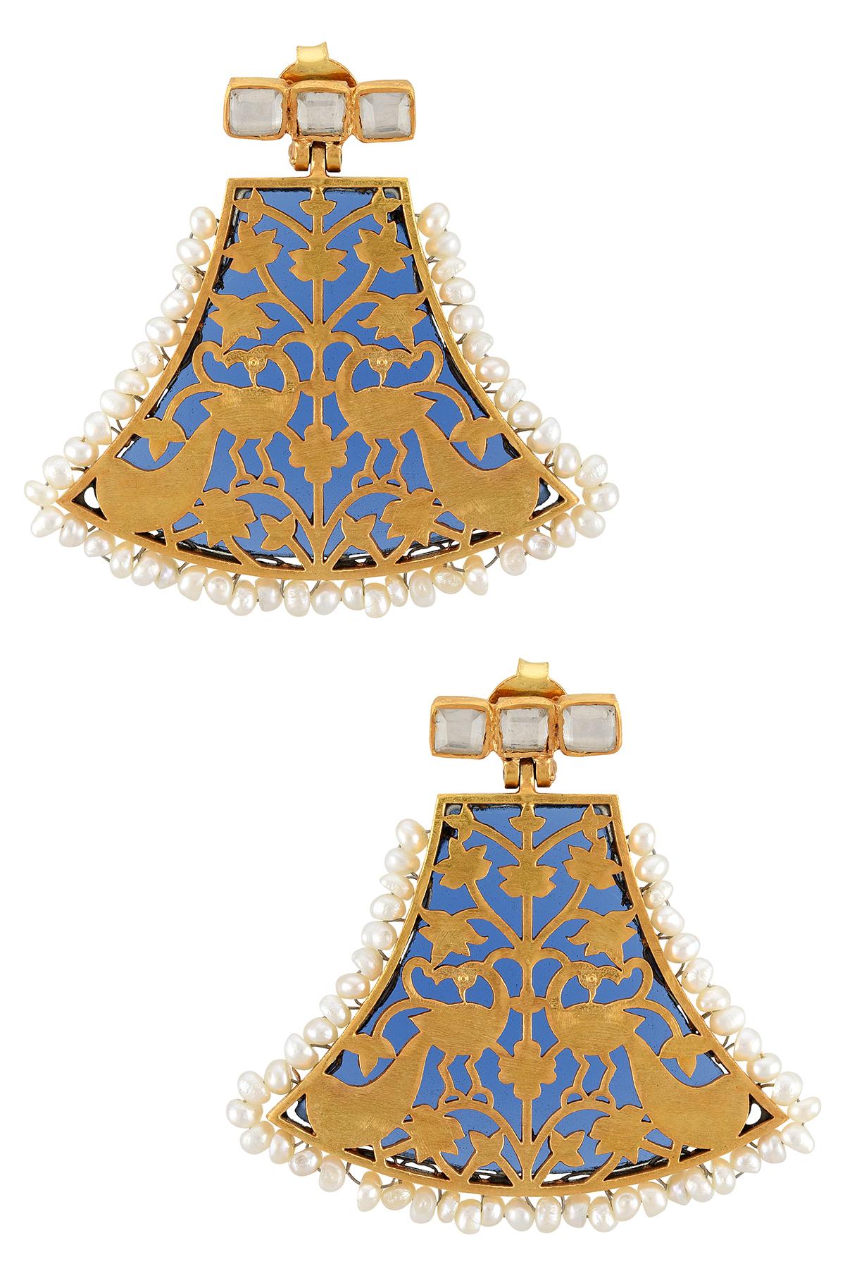 Silver Saarang Earrings